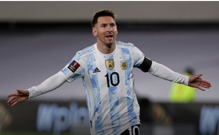 """""""Messi"""" hit a hat-trick as the Blues defeated Bolivia 3-0"""