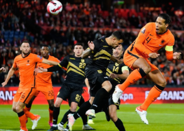 The Netherlands fired Gibraltar 6-0 to lead Group G